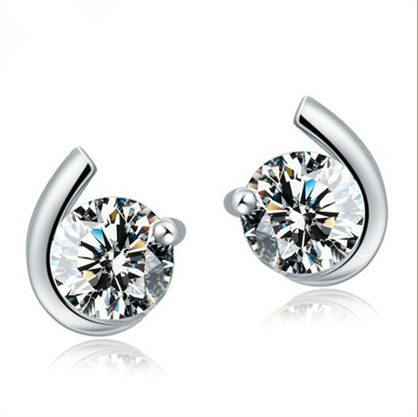 Find More Stud Earrings Information about AAA+ CZ zircon Stud Earrings 925 sterling silver earrings Fashion jewelry Anti Allergy earring Pendientes Femenino Free shipping,High Quality jewelry snap sets,China jewelry set for men Suppliers, Cheap jewelry software from ShenZhen Idea Fashion Jewelry Co., Ltd on Aliexpress.com