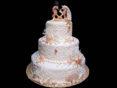 Seahorse Wedding Cake Topper | Birthday Cake and Wedding Cake