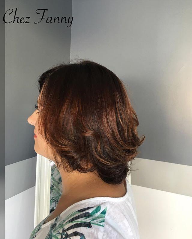 L ombre hair caramel ou marron est g n ralement le choix le plus r ussi et le brune - Ombre hair marron caramel ...