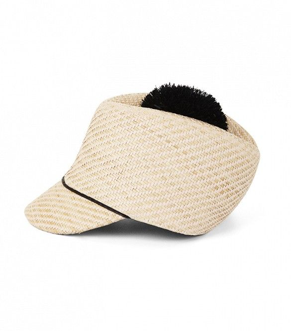 The 6 Versatile Accessories That Every Stylish Woman Owns via @WhoWhatWear Ha Ha a funny looking hat with a pom pom I like it =)