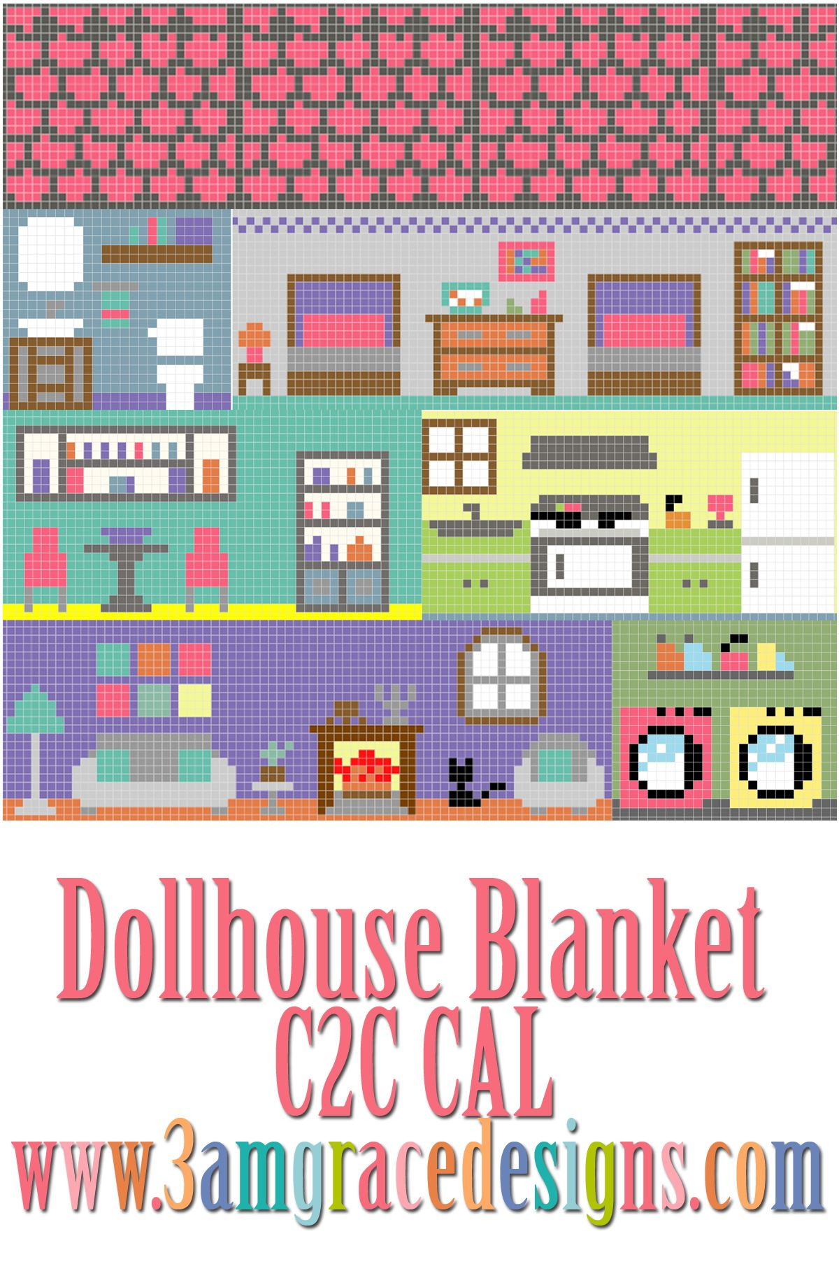 Happy Wednesday! We are so thrilled to share the Supply List document for the upcoming City Play Mat C2C Crochet-along! Please read the document thoroughly, as it will most likely answer any questions you might have. You are always welcome to email us or contact us via our Facebook group! This is a companion project …