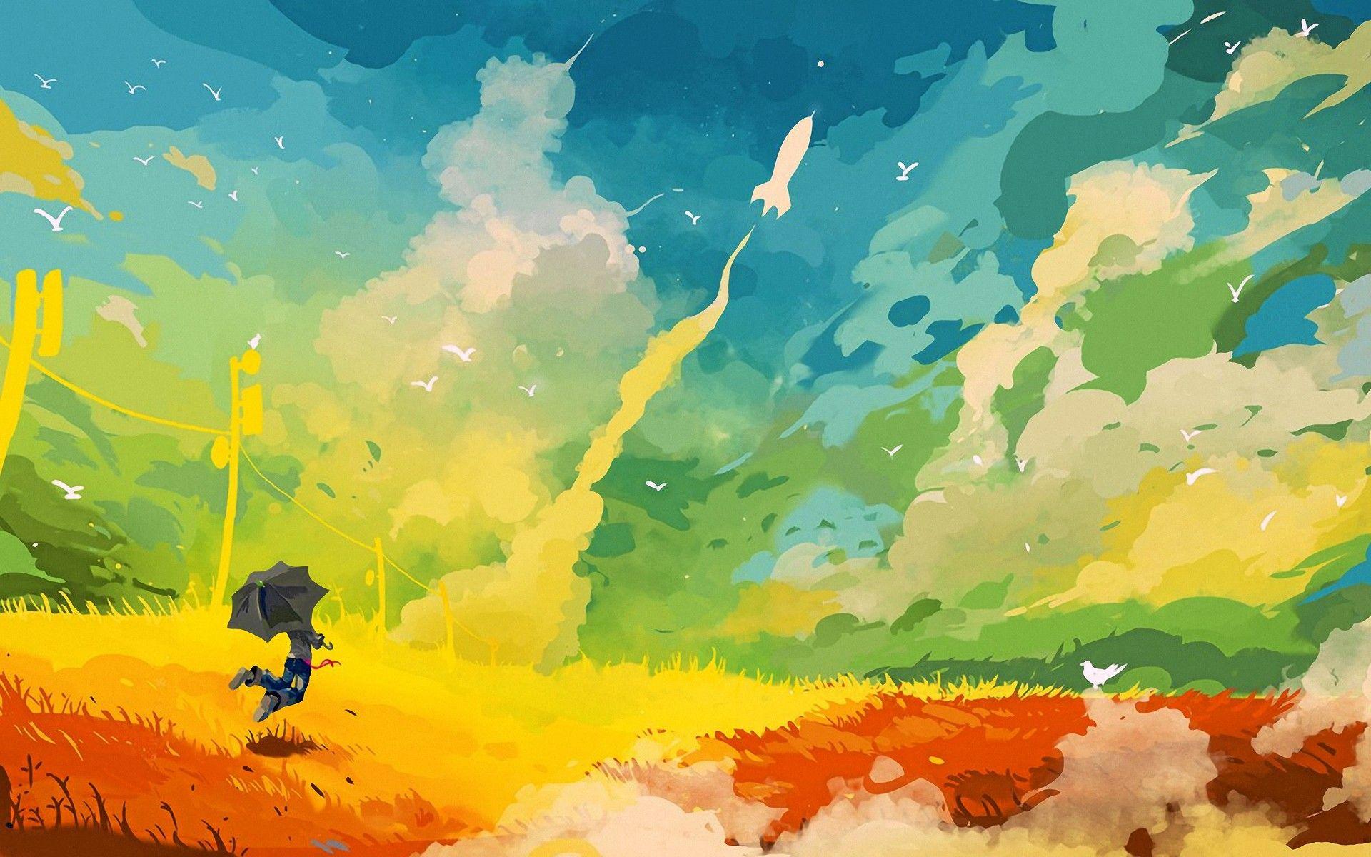 21 Creative Inspirational Digital Art Wallpapers Arte Abstracto Colorido Papel Tapiz Abstracto Papel Pintado Para Paredes