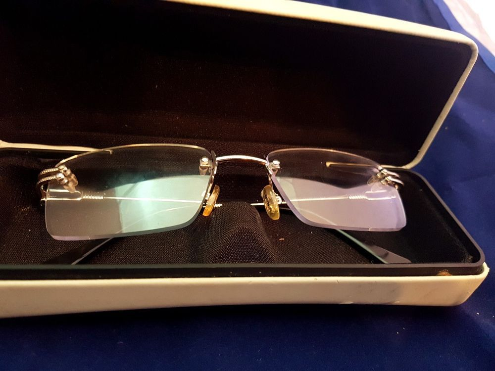 75df50f30d3e5 Occhiali Fred Orcade N.O.S - Vintage Sunglasses Brille Lunettes Rimless  France  Fred  Vintage