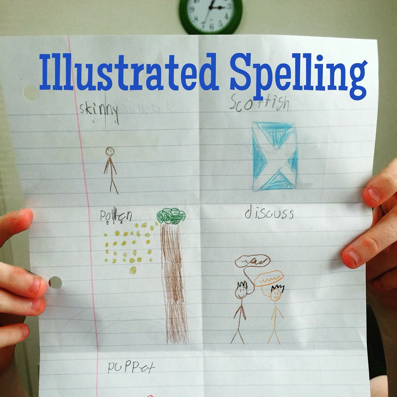 Spelling Assignments Can Be A Drag For Right Brained