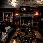 "Ally Coulter's ""Roman Holiday"" room with #FENDICasa. #HHNYC2014 #interiordesign #luxury #home #decor #Italian"