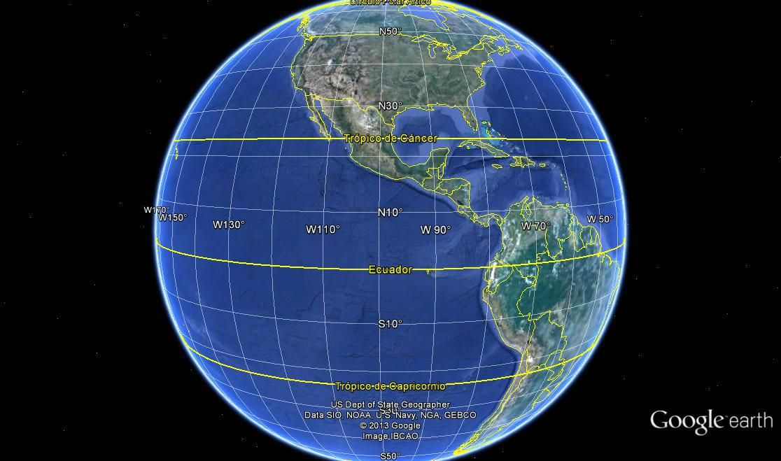 Mapamundi google earth mostrando las lineas del ecuador y los mapamundi google earth mostrando las lineas del ecuador y los trpicos de cncer y capricornio sciox Images