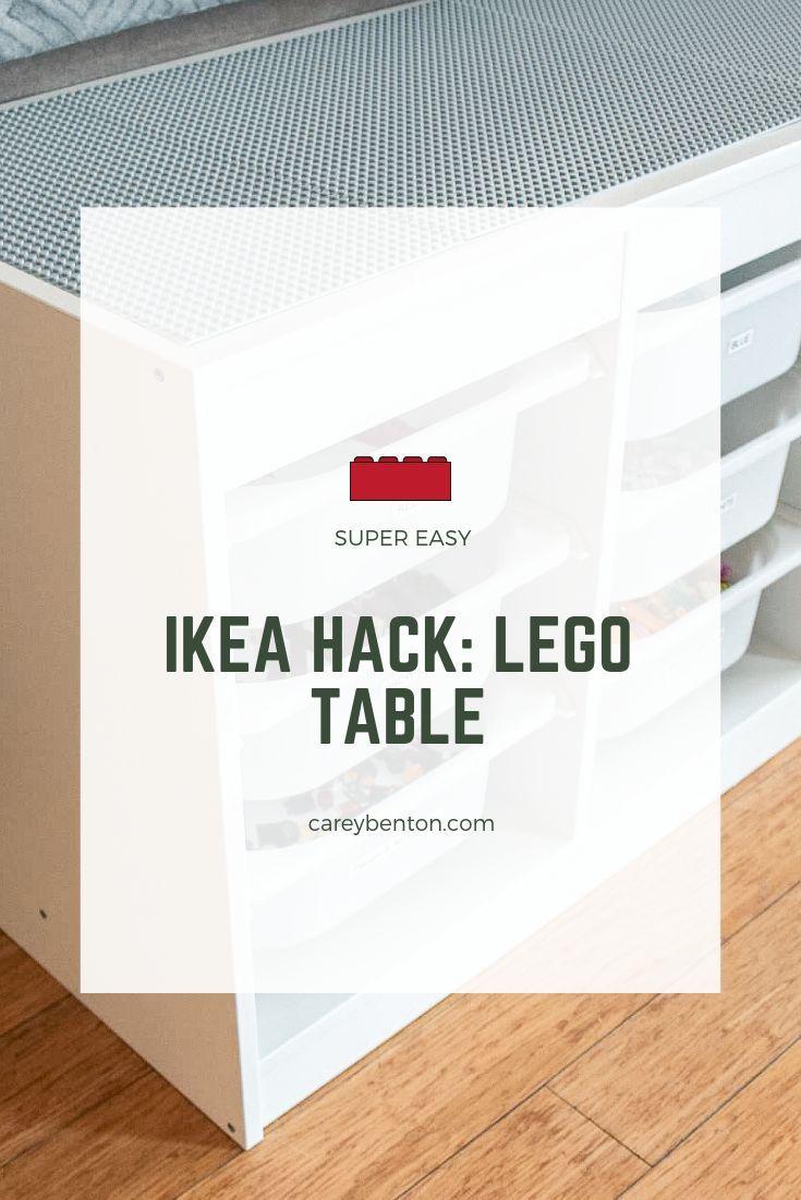 DIY IKEA Hack: Lego Table