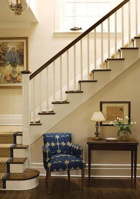 Best Paint Stair Rails And Sand Re Stain The Steps To Match 400 x 300