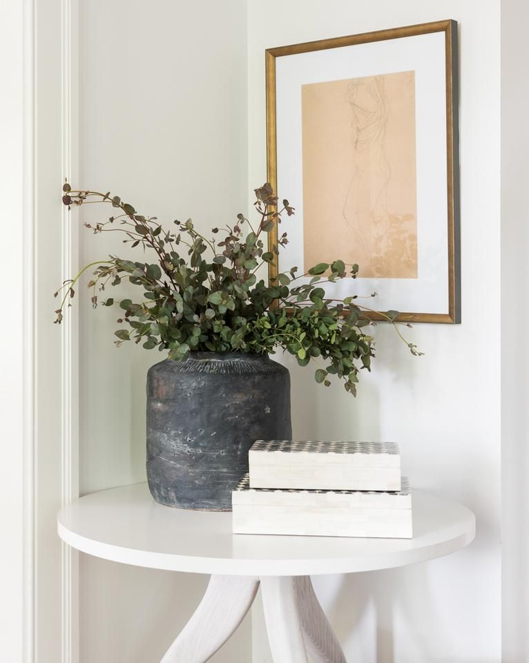 Geo Patterned Bone Box Black White Small Cheap Home Decor Home Decor Accessories Big Blank Wall