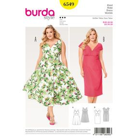 A line dress plus size pattern