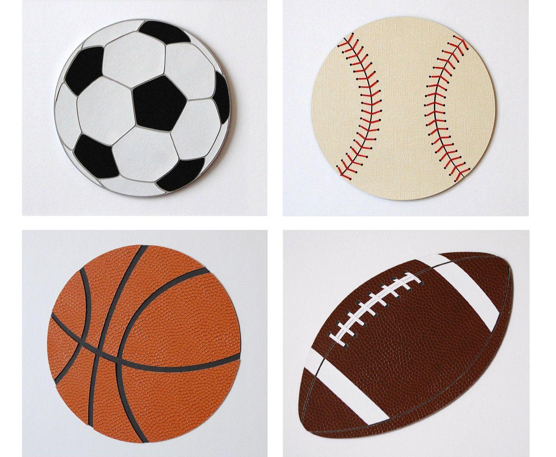 Sports Theme Kids Wall Decor Baseball Decor Football Decor ...