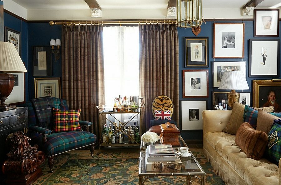 All Masculine Rooms Need Not Embrace Modern Minimalism