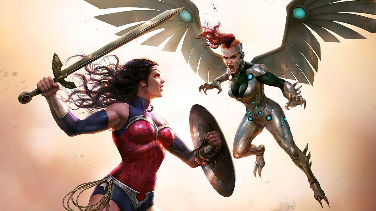 Wonder Woman Bloodlines (2019 Animated movies, Wonder