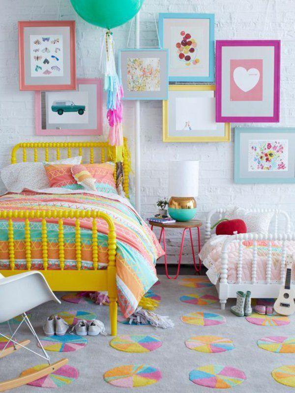 M dchen kinderzimmer 33 zeitgen ssische zauberhafte - Teppich jugendzimmer maedchen ...