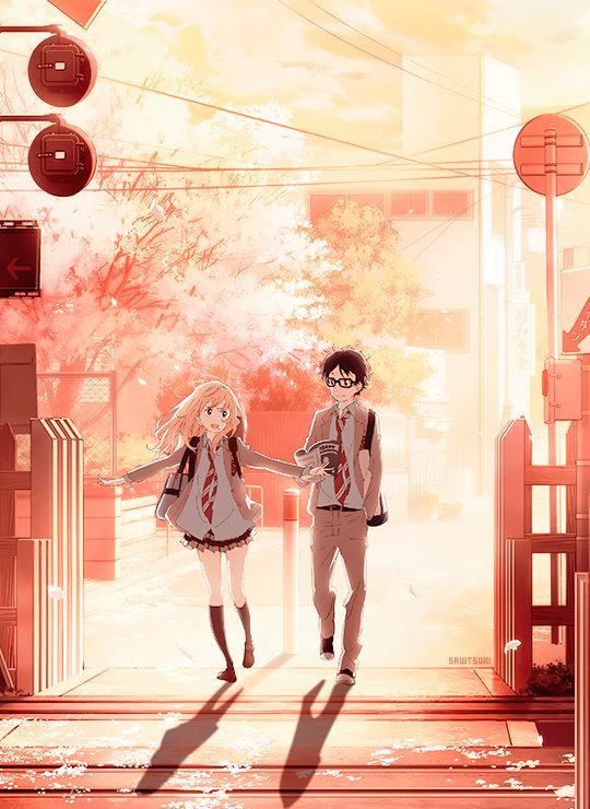 Pin On Anime Wallpapers Anime wallpaper your lie in april
