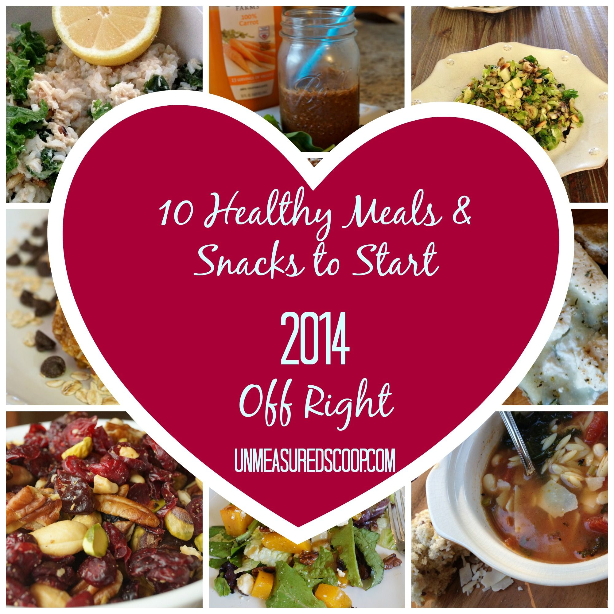 10 Healthy Meals & Snacks to Start 2014 Off Right