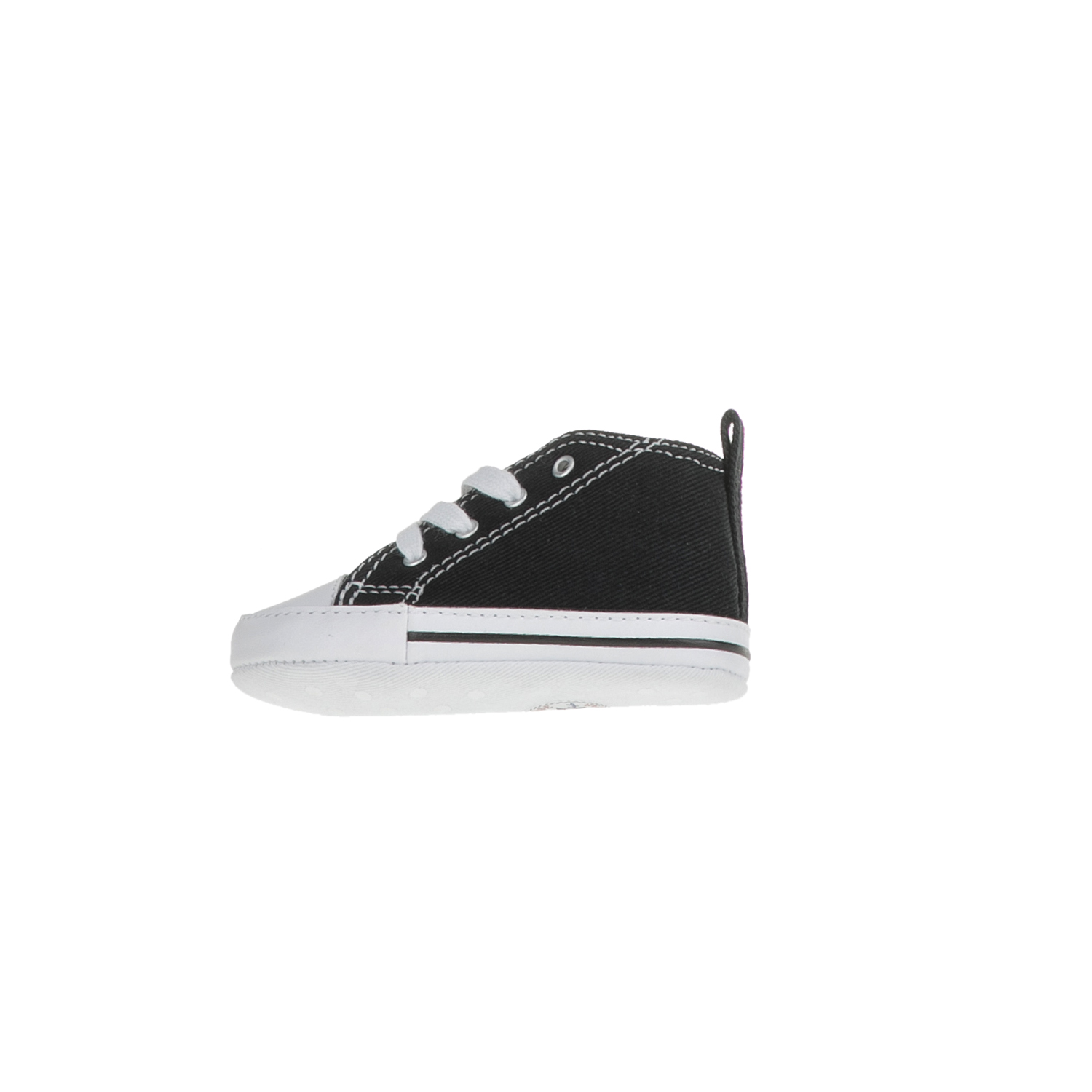 80c360e428a CONVERSE – Βρεφικά παπούτσια αγκαλιάς CHUCK TAYLOR FIRST STAR μαύρα  Παιδικά/Baby/Παπούτσια/