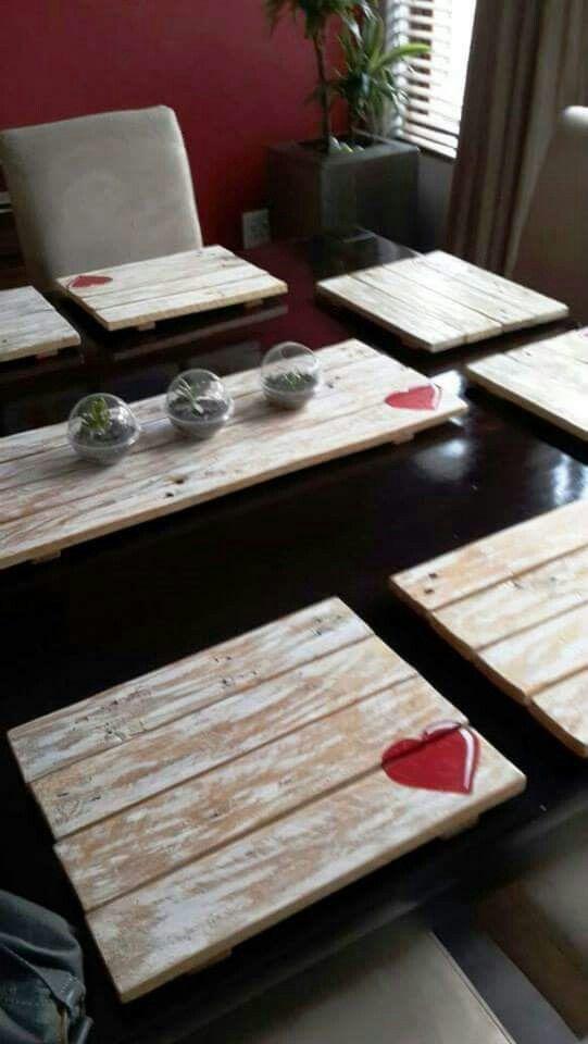 Place Mats Wood Placemats Placemats Diy Placemats