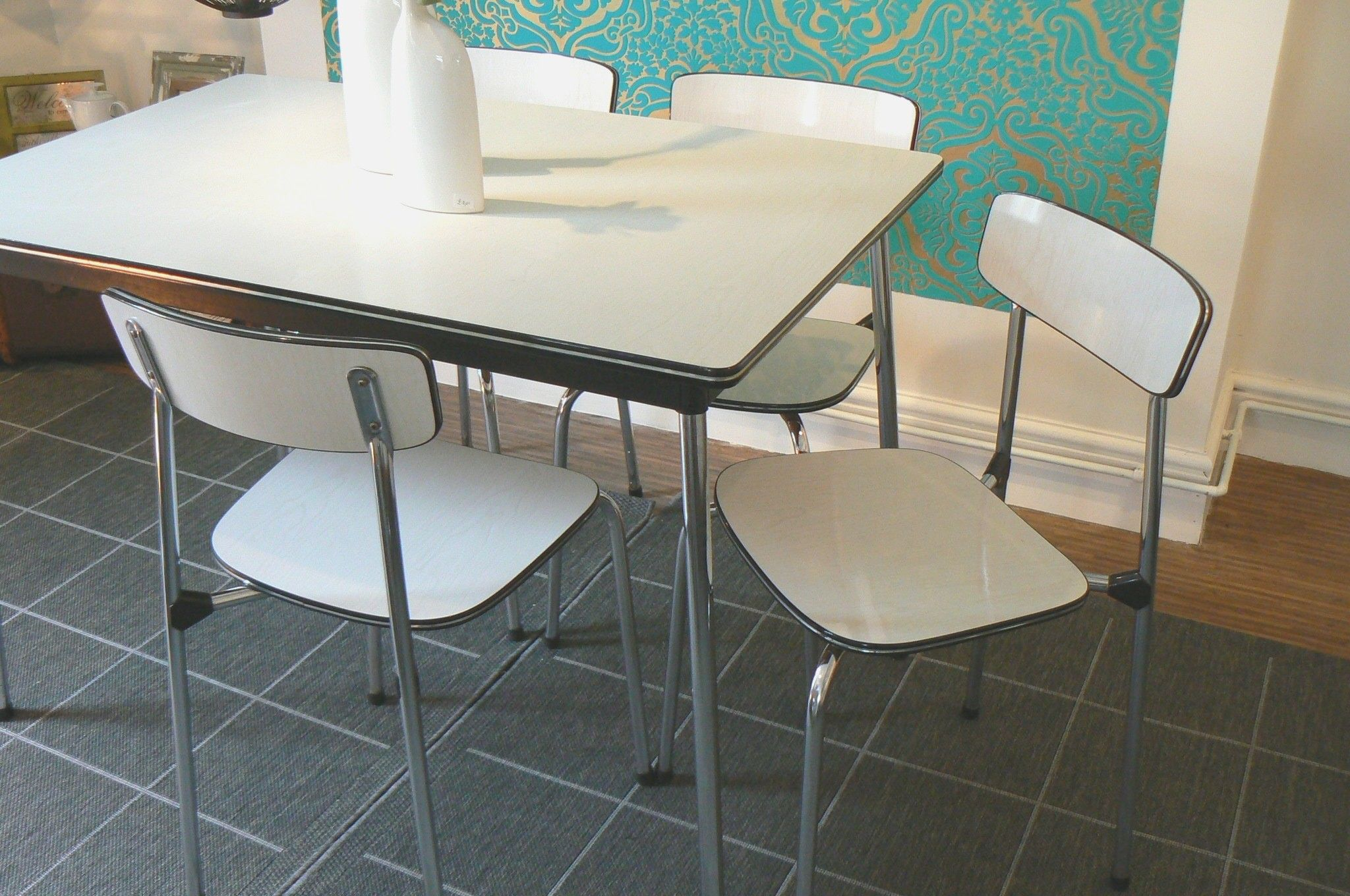 1950s Formica Kitchen Table And Chairs 1950s Formica Kitchen