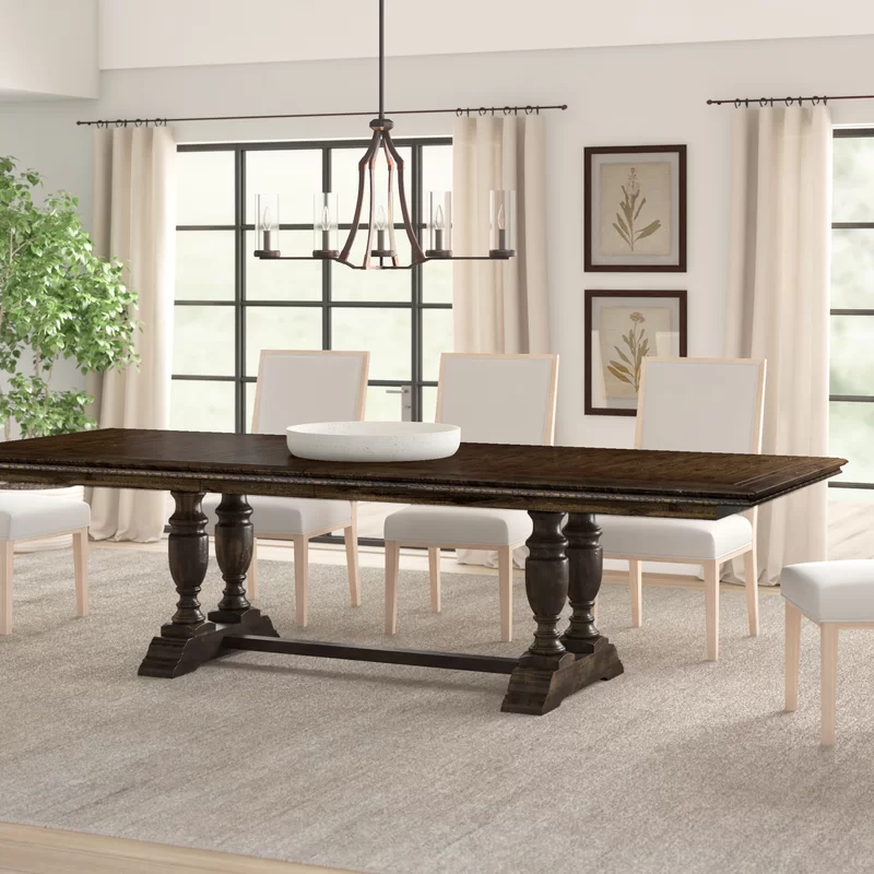 Treviso Extendable Dining Table Extendable Dining Table Dark Dining Room Dark Wood Dining Table