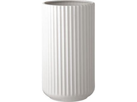 Lyngby by Hilfling Design - Lyngby Vase - Hvid, 25 cm