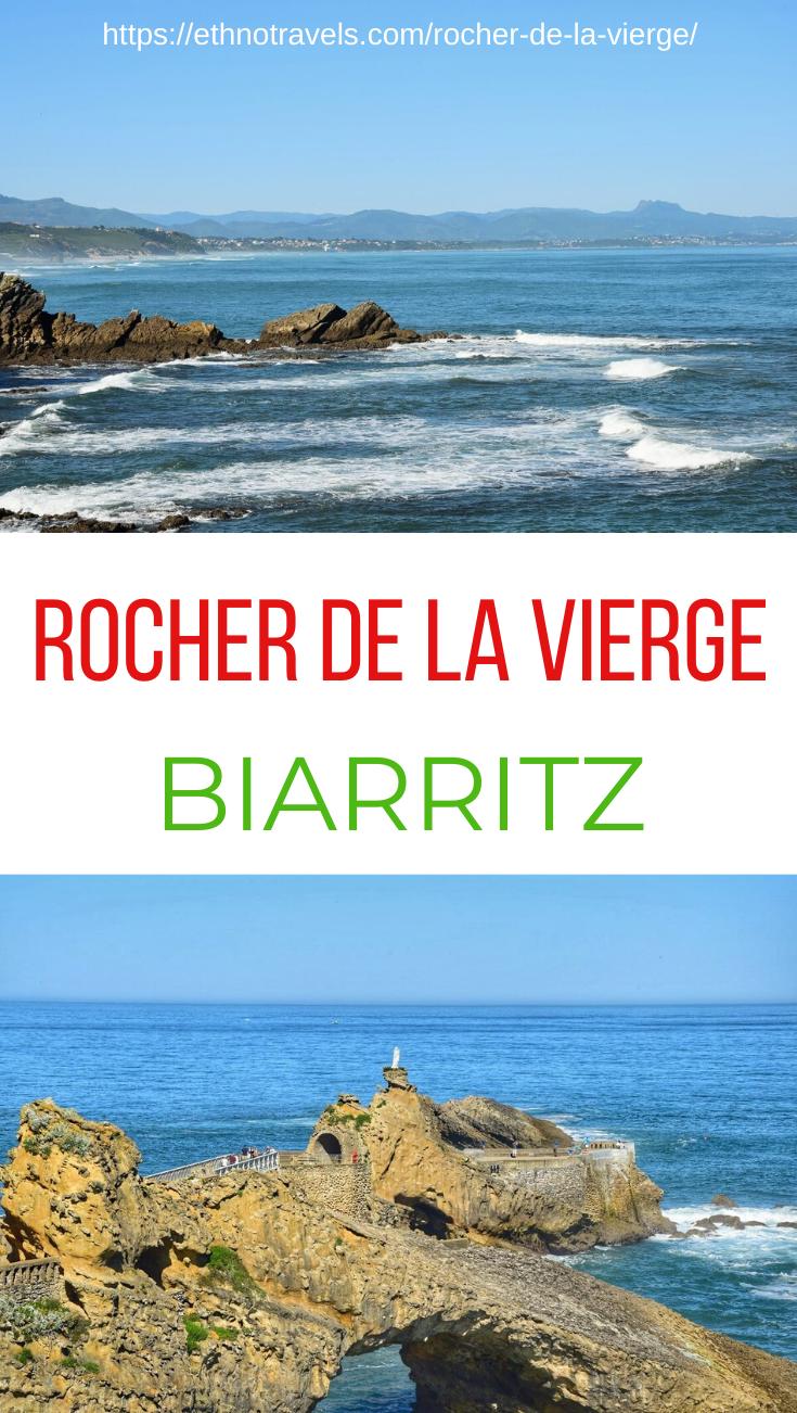 Rocher De La Vierge Biarritz Pourquoi Et Comment Le Visiter Bayonne Tourisme Tourisme En France Et Tourisme