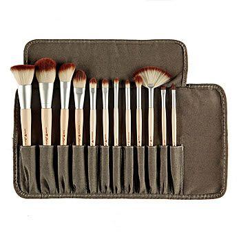zoeva bamboo pinsel set  bamboo makeup brushes cosmetic