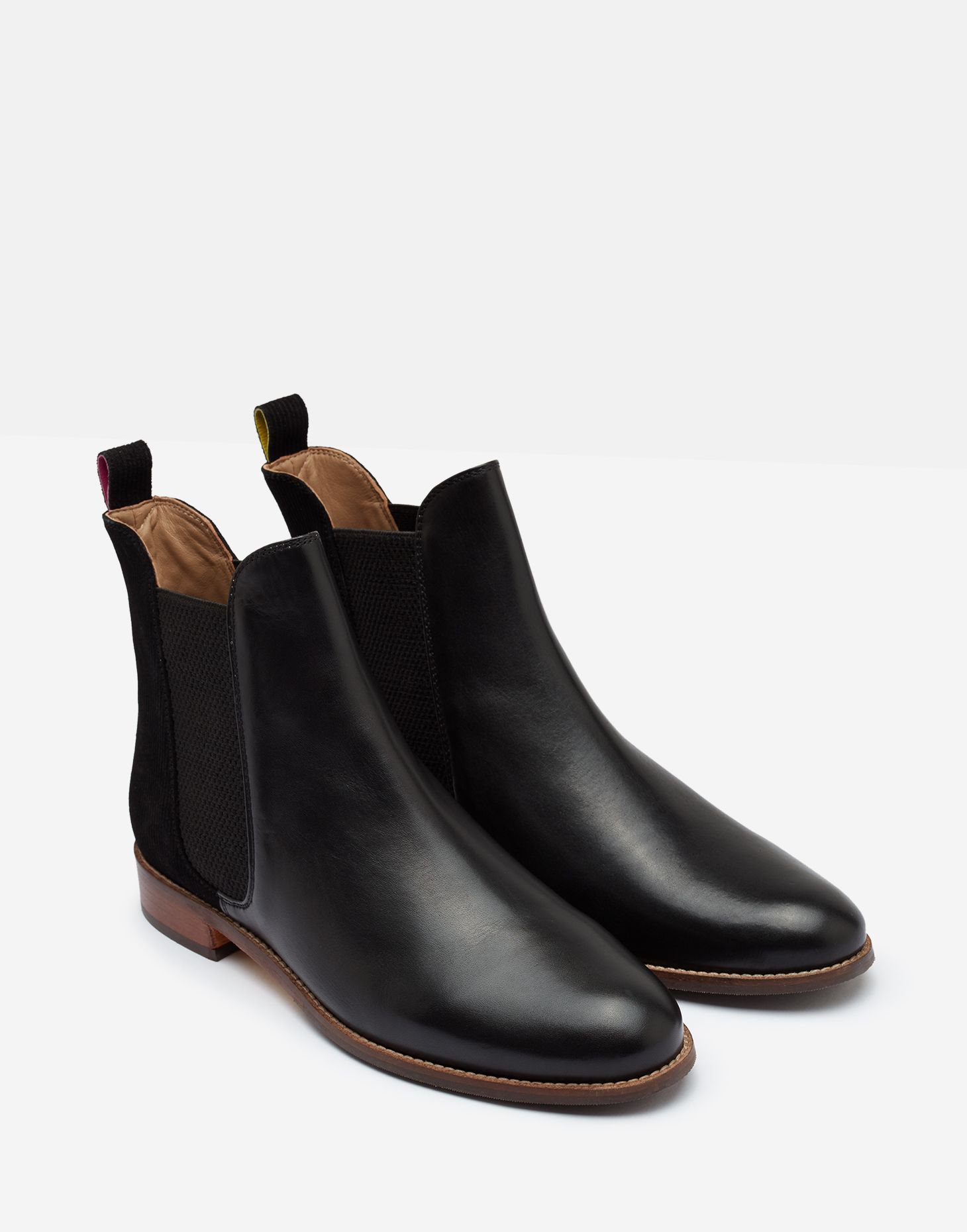 Westbourne BLACK EMBOSS Leather Chelsea