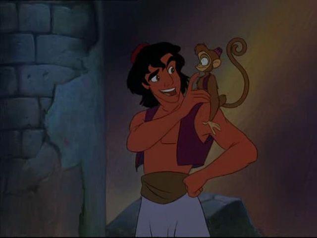 Aladdin And Abu In The Return Of Jafar The Return Of Jafar