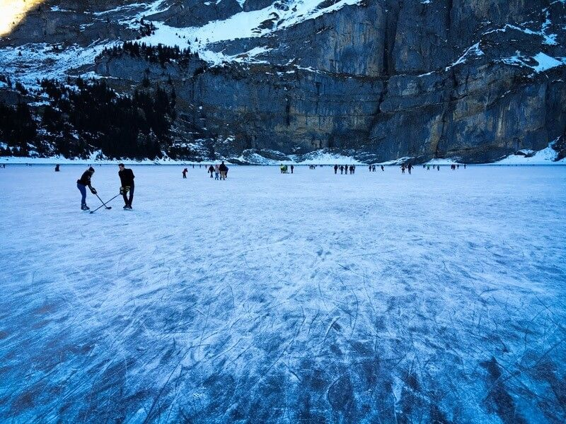 These Swiss Lakes Have A Good Chance Of Freezing Over Ice Skating Switzerland Travel Ice Skating Places