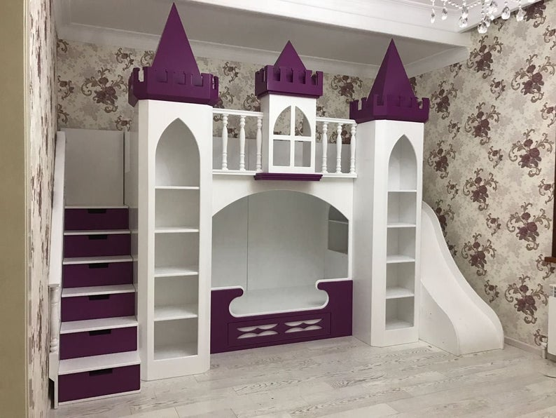 Ana White Build a Castle loft bed Free and Easy DIY