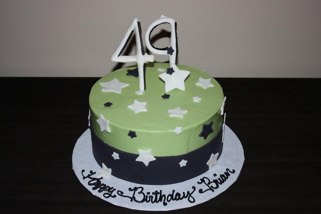 49th Birthday Cake Photo Album Card 49th Birthday