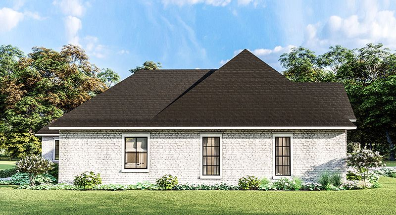 Traditional Style House Plan 7448 Greystone Traditional Style Homes House Plans One Level Homes