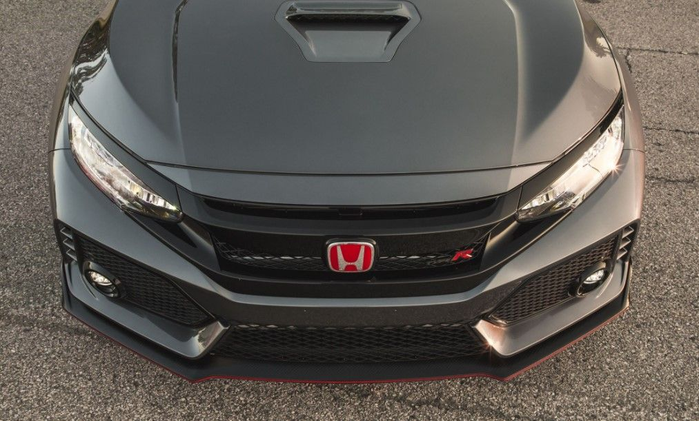 Best images of Honda Civic TypeR Matte Black Colour