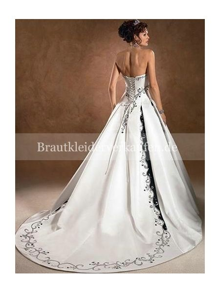 schwarz vintage Royal Brautkleid Verkaufen | Farbige Brautkleider ...