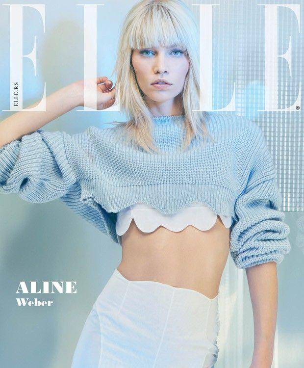 Aline Weber for ELLE Serbia 2016
