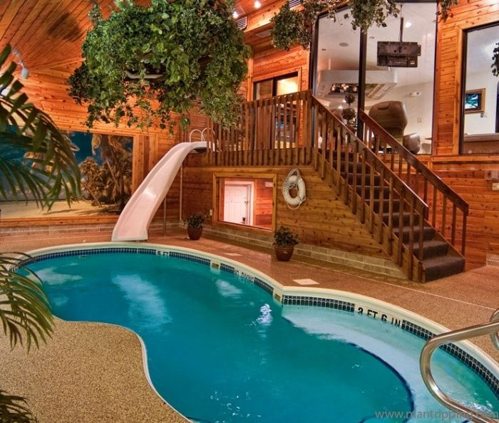 Sybaris Chalet Suite With Swimming Pool Slide Would Lovr To Try This Room The Next Time Romantic Hotel Rooms Themed Hotel Rooms Theme Hotel
