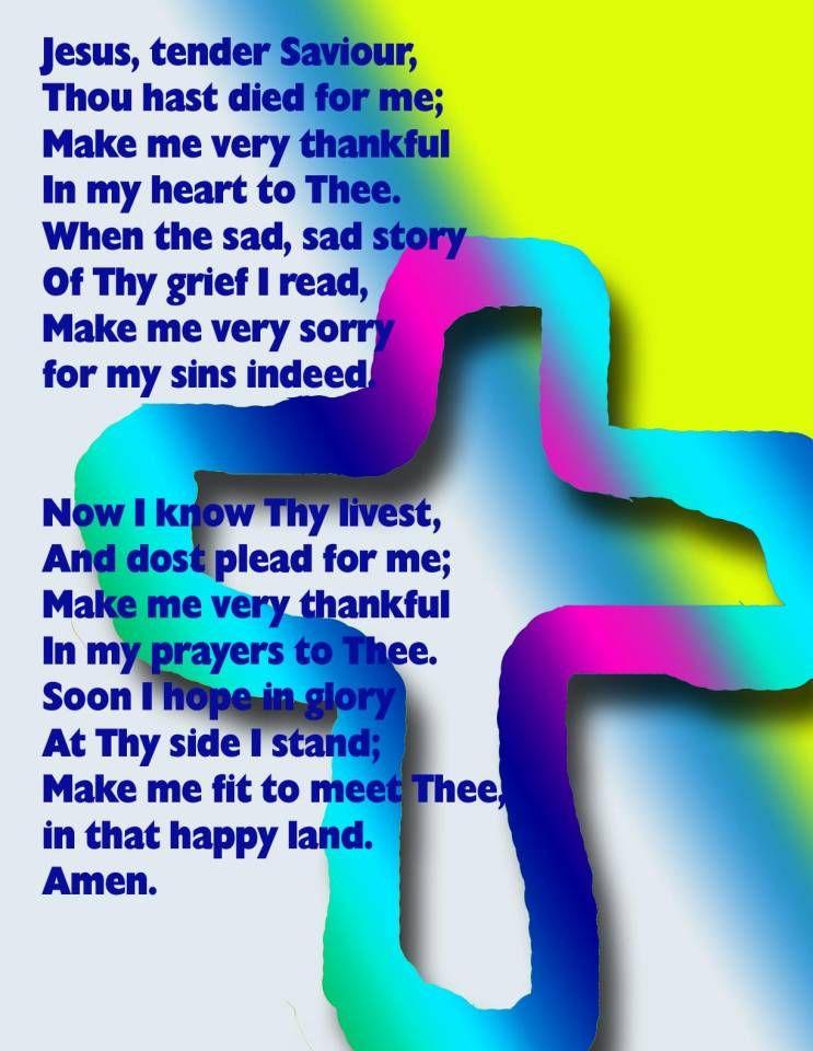 Prayer Poster For Sunday School