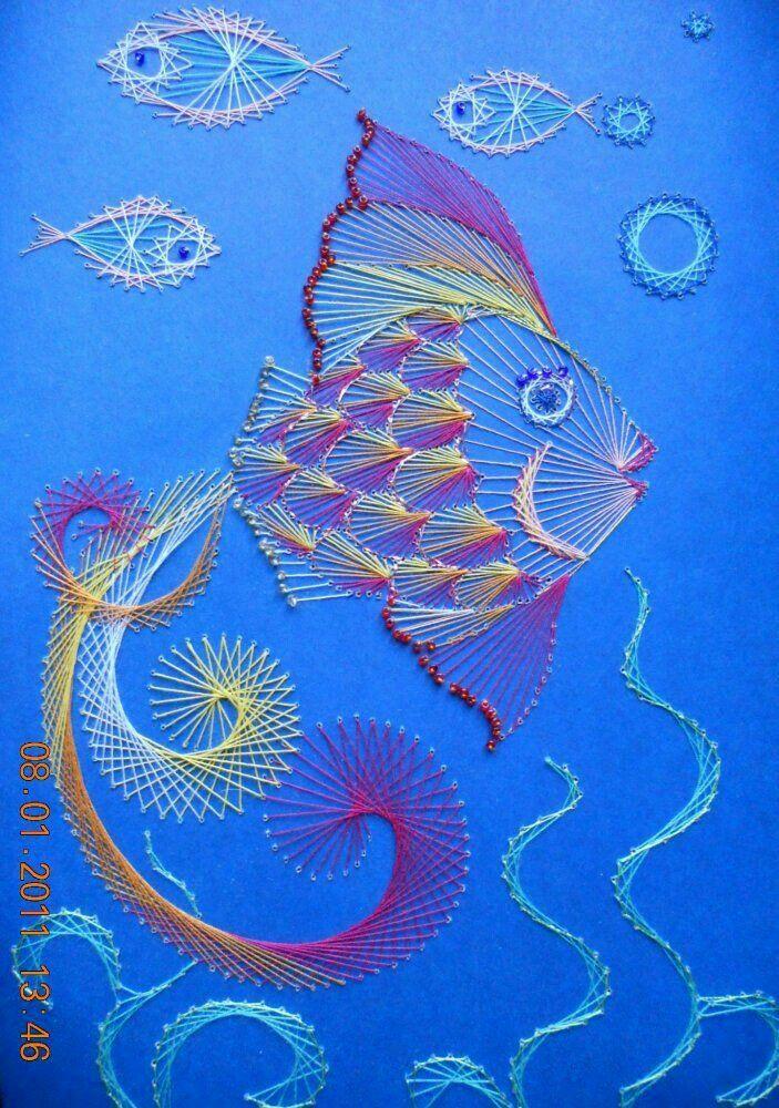 Pin By Vedrana Golorej On Pickpoint Pinterest String Art Paper