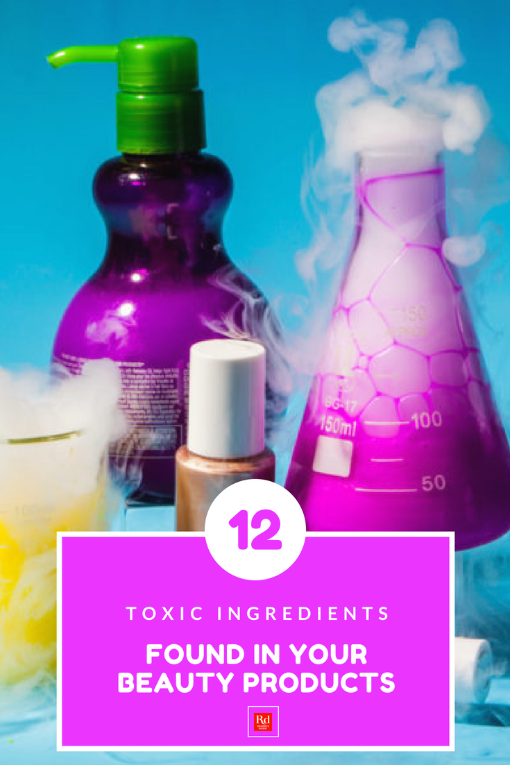 12 Toxic Ingredients Found in Your Beauty Products