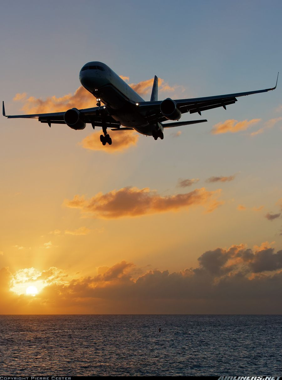 Boeing 757-2B7 aircraft picture.  US Airways Philipsburg / St. Maarten - Princess Juliana (SXM / TNCM) St. Maarten, December 12, 2013