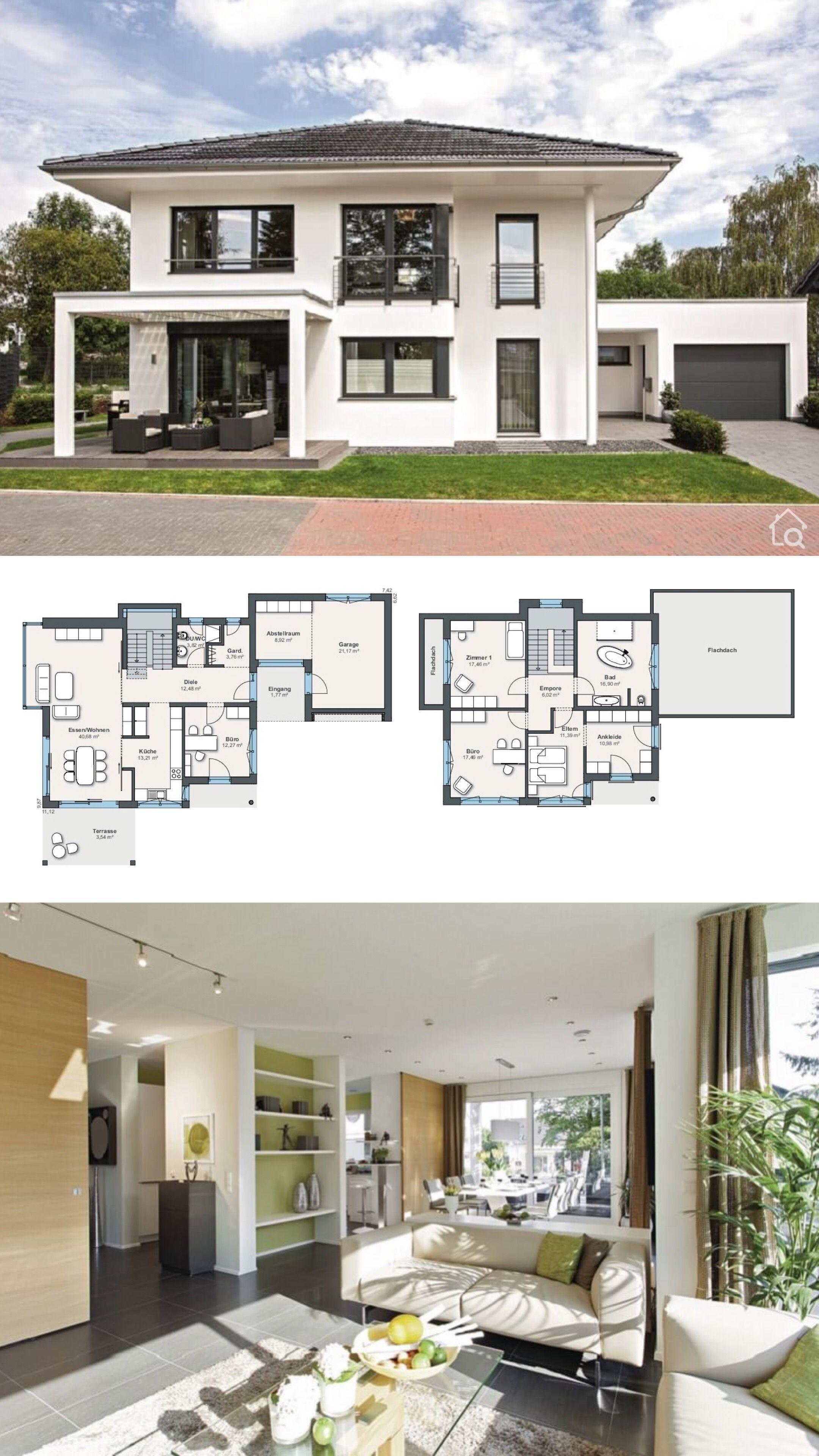 Stadtvilla City Life – Haus 250 mit Garage WeberHaus