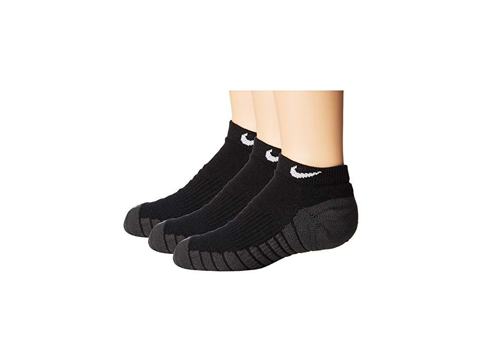 7c21558beec3 Nike Kids Dry Cushion No Show Socks 3-Pair Pack (Toddler Little Kid ...