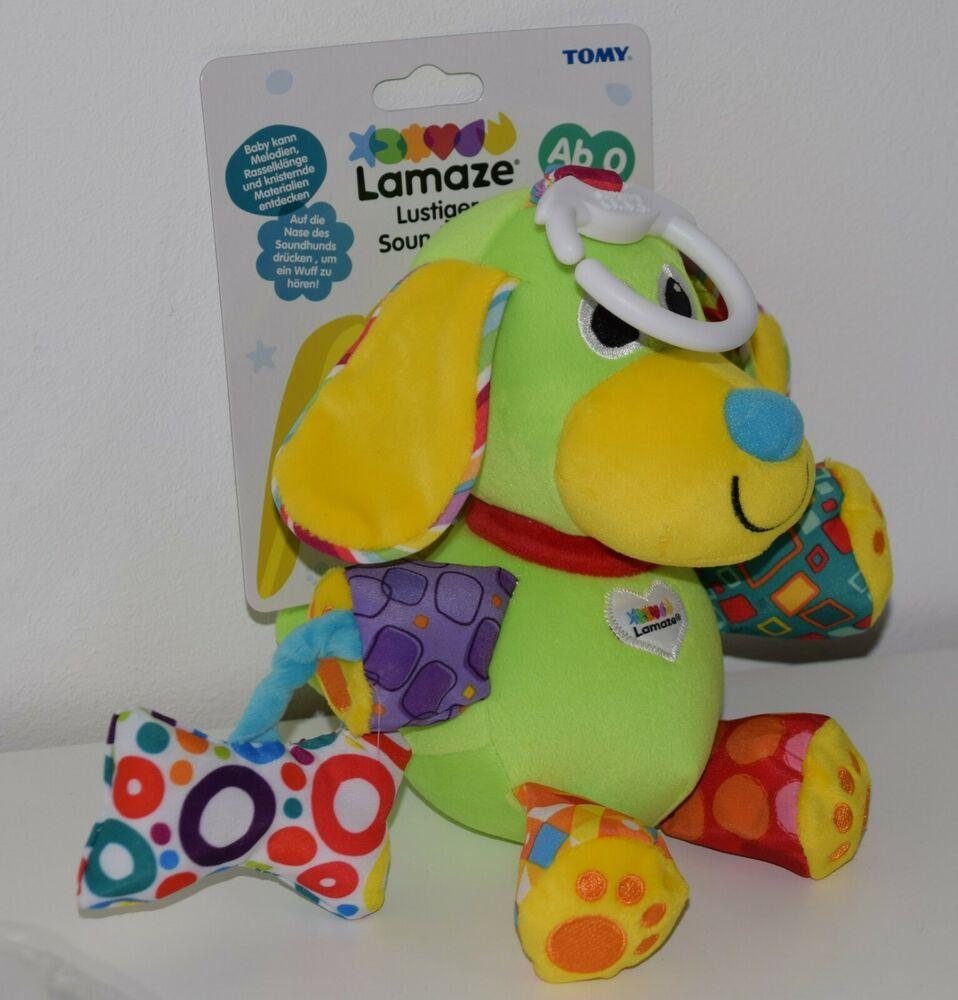 Neu Baby Lustiger Soundhund Lamaze Kleinkindspielzeug