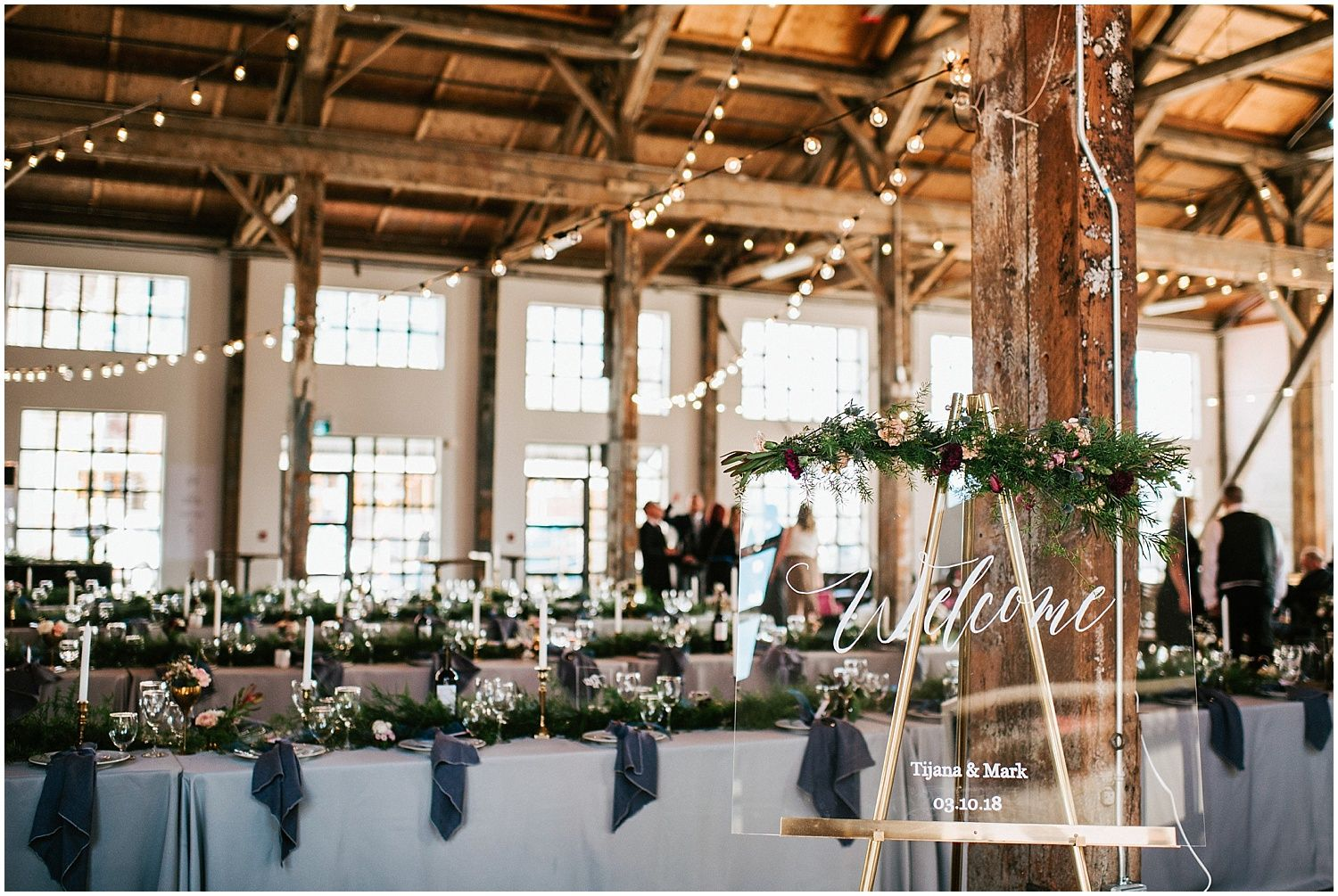 Wedding chair decorations diy  north vancouver diy wedding calligraphy glass sign greenery pipe