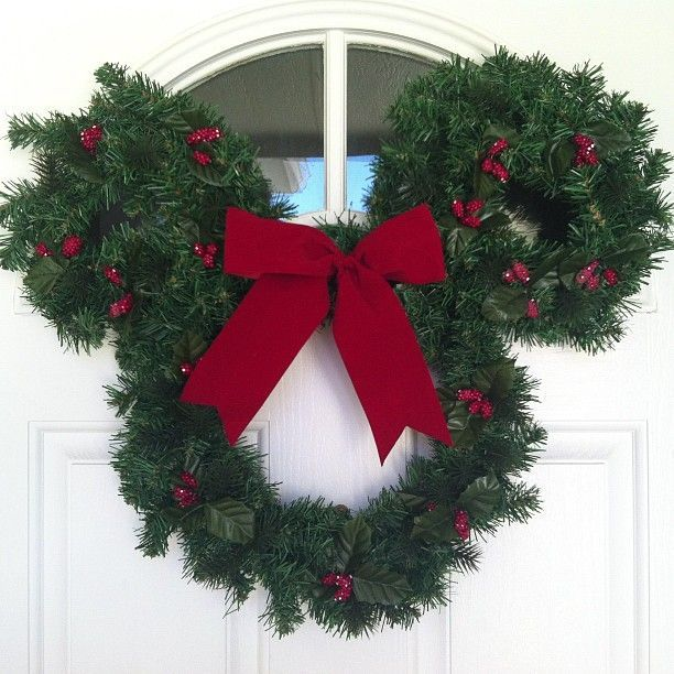 18 Magical Christmas Yard Decorations: Just Added A Little Disney Holiday Magic To Our Front Door