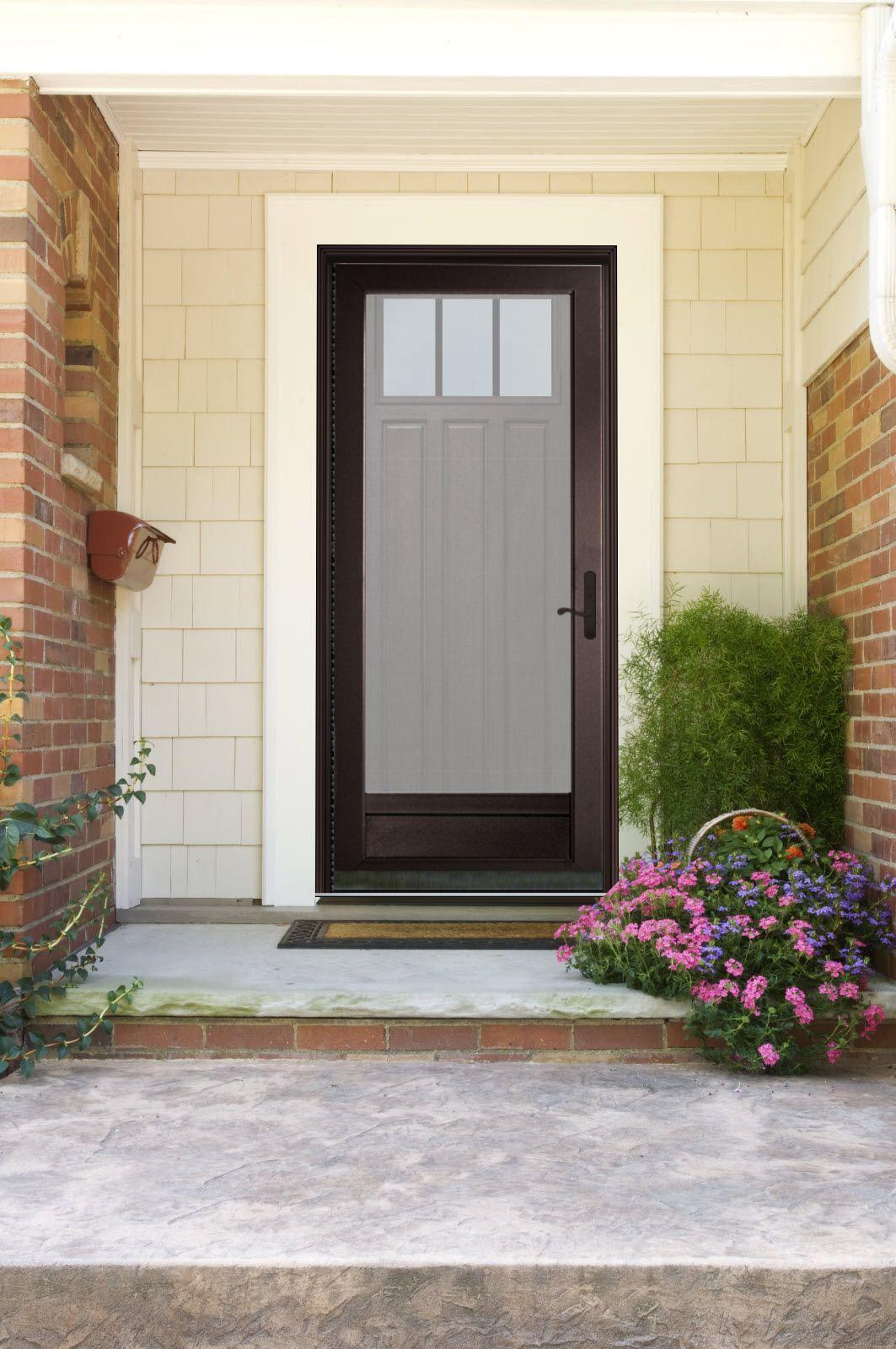 Provia Visualizer My New Exterior Storm Door Porticos Doors