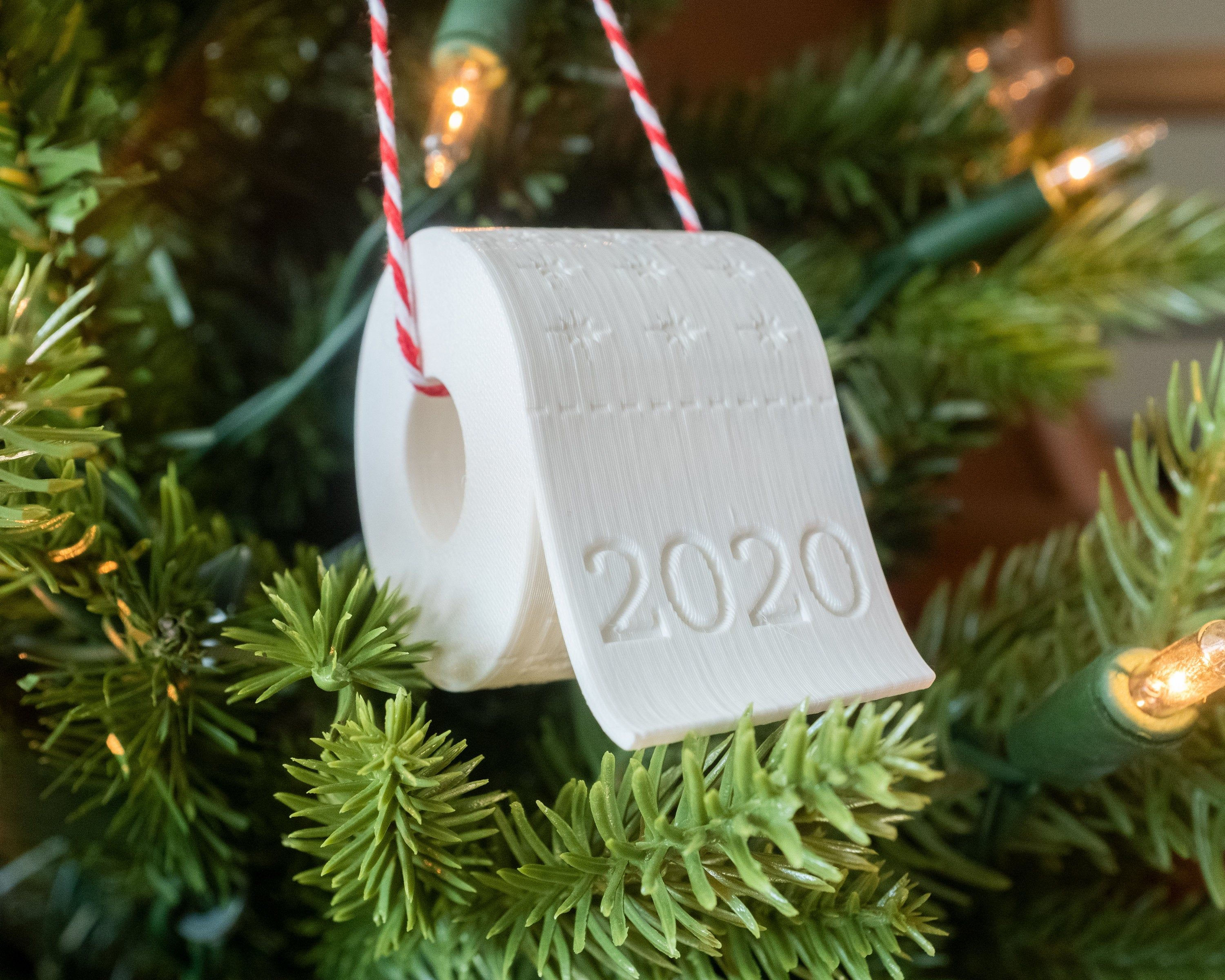 Christmas Ornament Toilet Paper Ornament to remember 2020