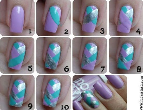 Nail Art Tutorial Szukaj W Google