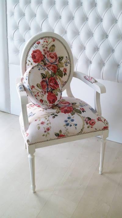 sillón luis xvi laqueado poliuretánico  Aprigliano Muebles